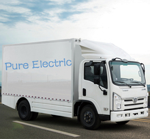 Mini electric car cargo box trucks manufacturer company in China