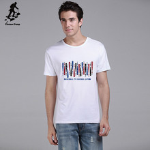 Fashion brand 100% premium cotton tee shirts for playing baseball