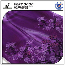 Factory direct plain textile woven polyester printed chiffon fabric