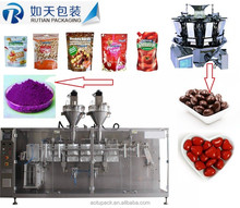 Automatic food snack stand-up bag Pistachio packing machine