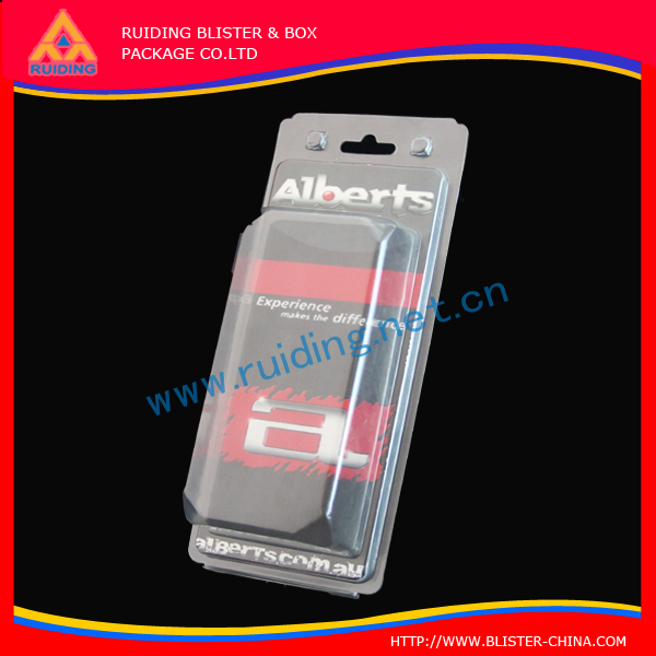 Luxury Plastic Blister Packaging For Iphone Case custom made