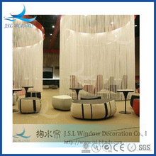Various colors elegant fringe curtain