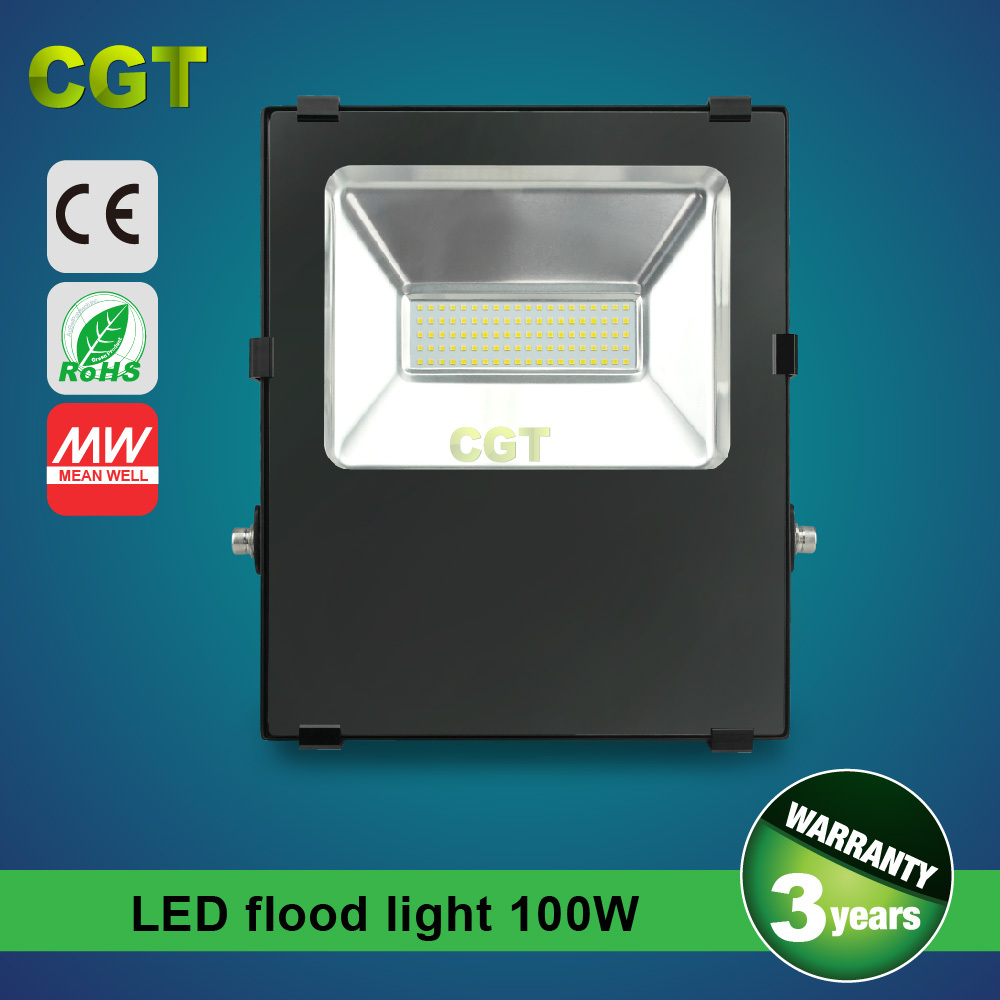 CE/UL Driver Floodlight 100W LED Flood Light