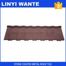 Worldwide popular Stone Coated Metal Roof Tile price popular in philippines
