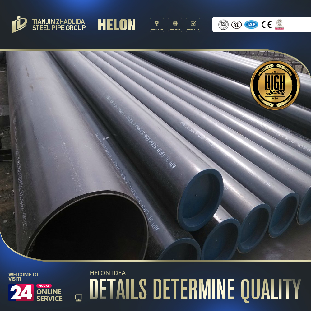 API seamless steel pipe used as tubing and casing pipelines