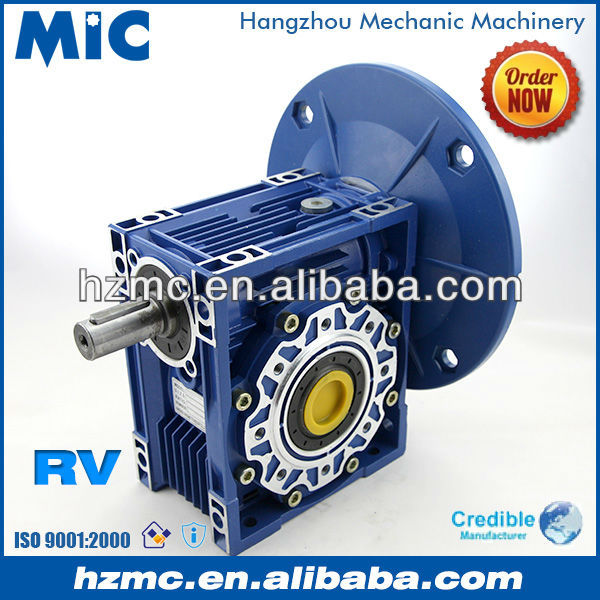 NMRV Series Right Angle Small Worm Gear Speed Transmission Gearbox with Extenssion Shaft