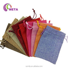 Wholesale Fabric Burlap Gift Jute Bags Wedding