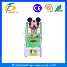 Promotion simulator shooting arcade game basketball machine for children