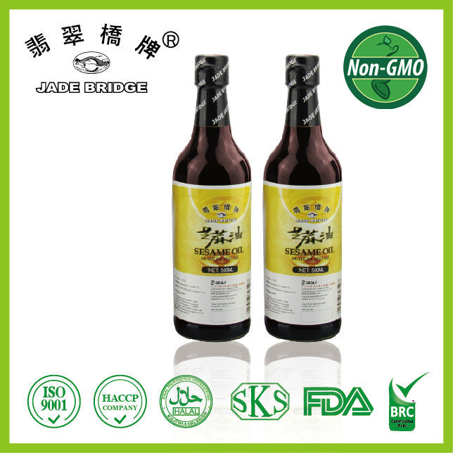 Black sesame seed oil ,100% Pure sesame oil 500ml