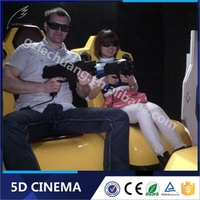 Crazy Dynamic 7D China 5D 6D 7D Cinema Factory 7D Cinema Theater/ Canton Fair Items