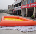 HOLA orange inflatable pool/inflatable ball pools