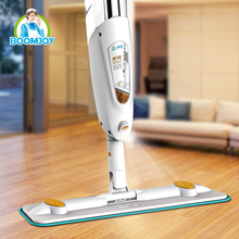 Boomjoy both material wet dry use spray mop floor cleaning