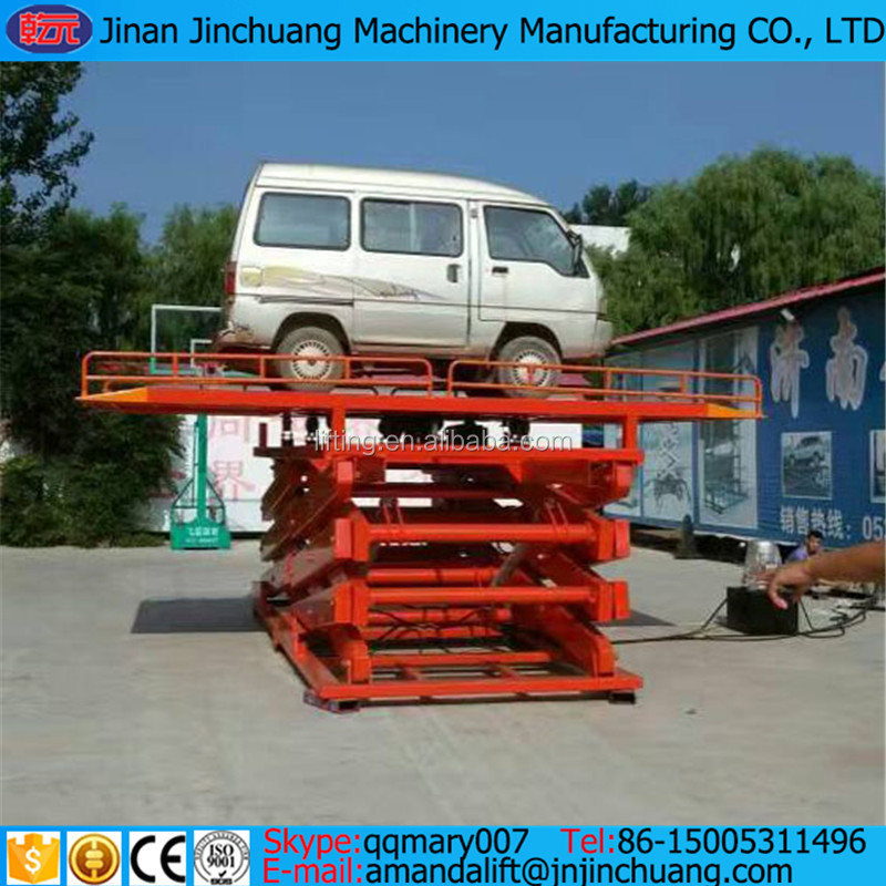 mechanical car lift car lift outdoor tilting mini scissor car lift