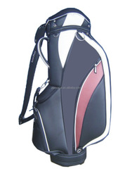wholesale high quality custom handmade PU leather golf bag parts