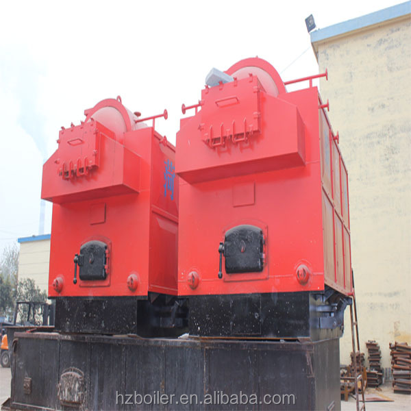 Advanced fixed grate coconut shell fired boiler or bio mass fuel steam boiler