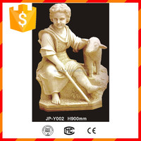 Chinese hand carved cast stone statues for sale