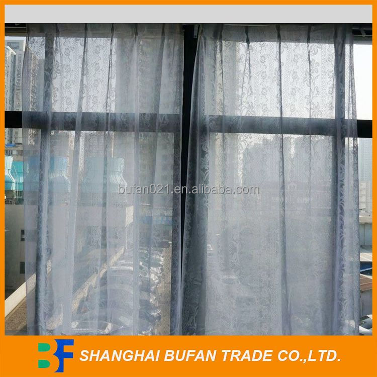Factory attractive fashion lace fabric for curtains