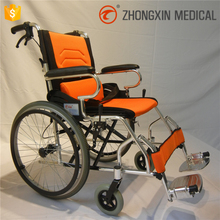 small caster portable wheelchair