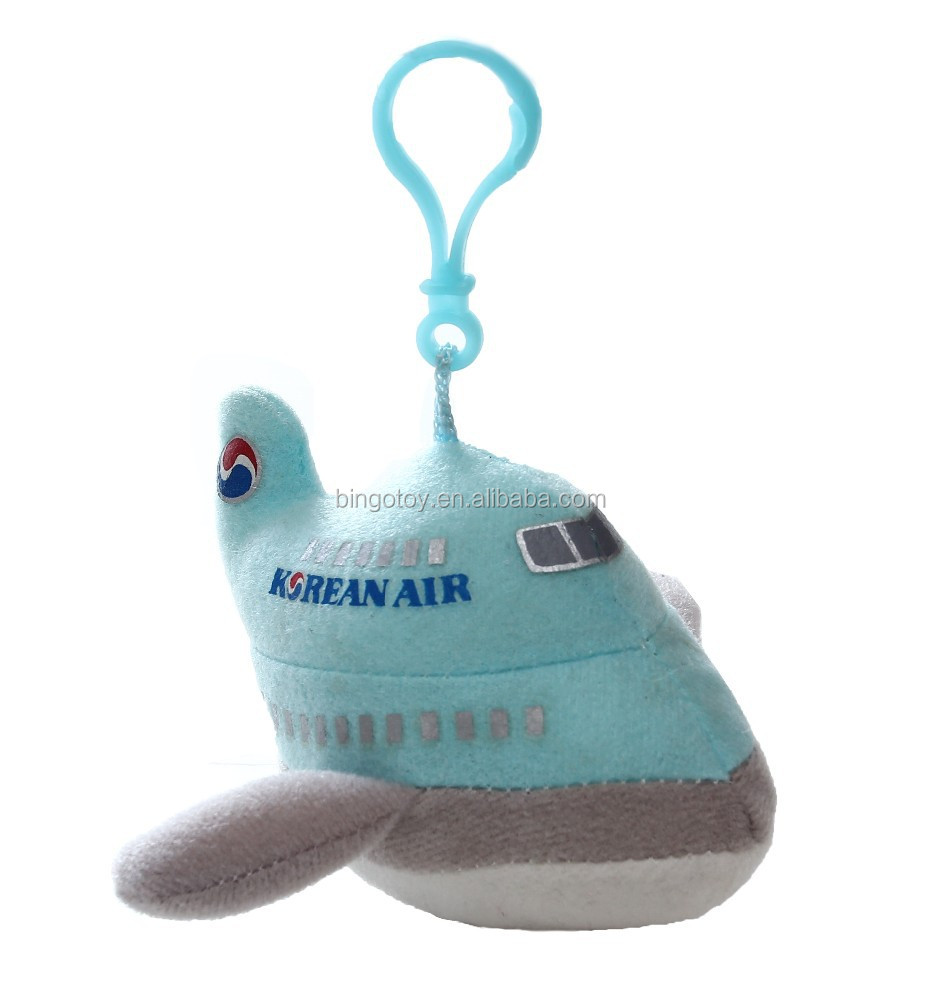 hot new product toy 2015 korea custom plush toy plane