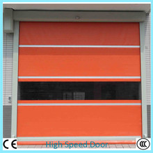 Cheap Pvc Plastic Interior Door Automatic Fast Roll Up Door