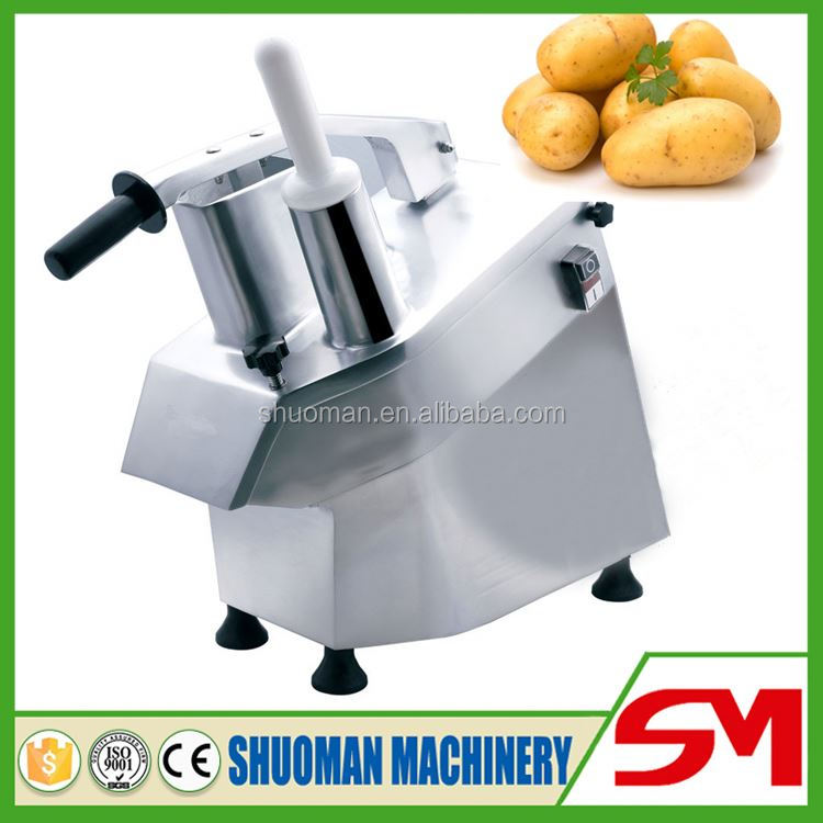 Uniform size and clean home use vegetable cutting machine