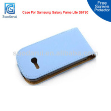 Slim Flip Leather cover case For Samsung Galaxy Fame Lite S6790