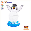 DIY children toy, penguin educational kids toys, magic crystal growing paper for desk decoration