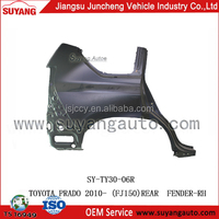 Steel Rear Fender For FJ150 Toyota Prado Auto Spare Parts