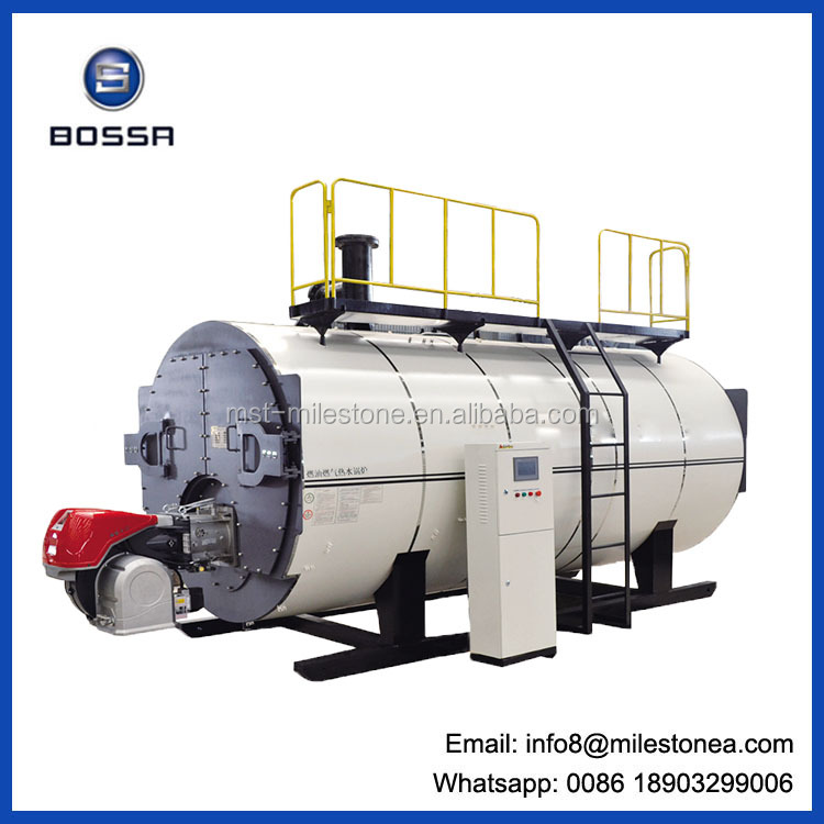 low pressure oil fired hot water boiler for hot sales