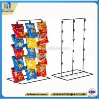 China Alibaba store supermarket metal rack fruit display stand