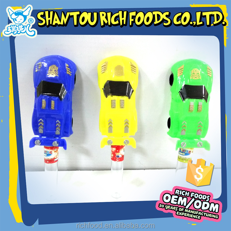 sports car modle plastic toy candy in bulk for sale