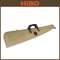 2014 hot selling new design canvas and genuine leather gun slip for shotgun