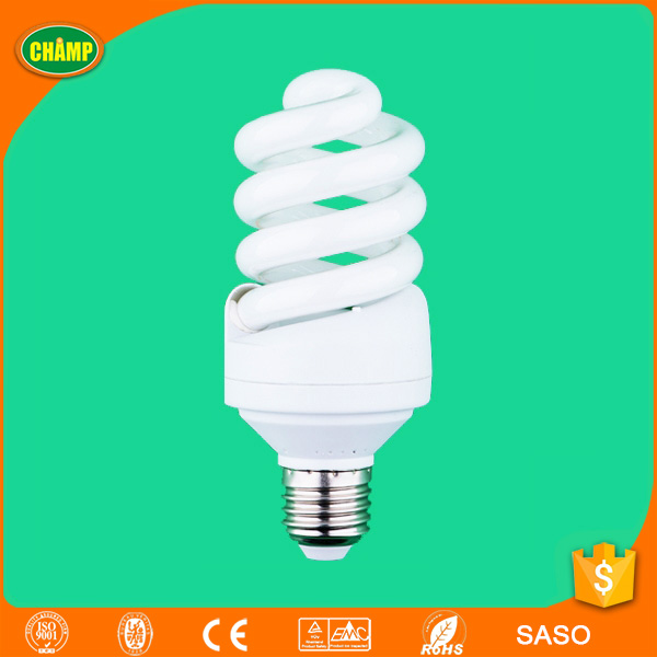 CE T4 spiral b22 bulb holder energy saving light