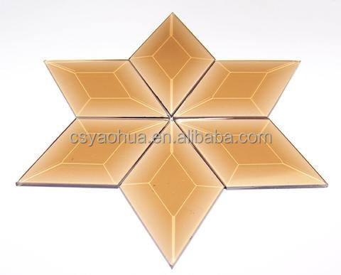 Top quality Decorative Glass Bevel Clusters
