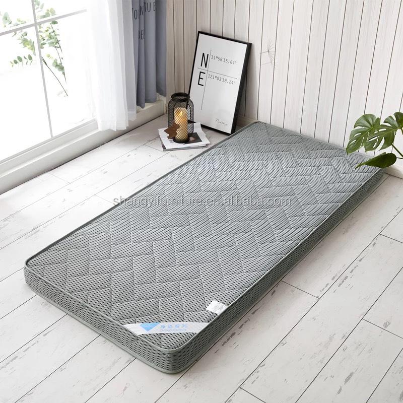 durable high grade twin size cashmere euro top coconut coir fiber mattress with zipper - Jozy Mattress | Jozy.net