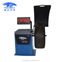 2017 Best selling 220V wheel balancer machine with Europe exporting quality for garage equipment cheap price of wheel alignment