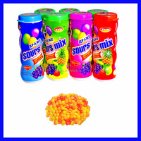 12g Fruit flavor sugar coated sweet gummy candy