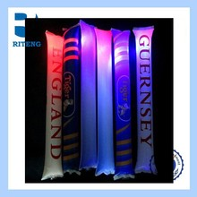 wholesale custom events noiser inflatable glowing thunder sticks