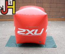 Customized PVC Red Inflatable Swim Buoy For Sale