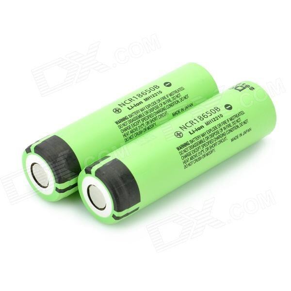 Brillipower 3.7v rechargeable li ion battery for panasonic cgr18650 3400mah