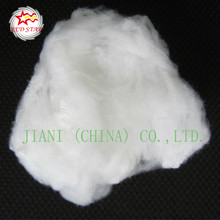 100% polyester recycled raw white bosilun fiber