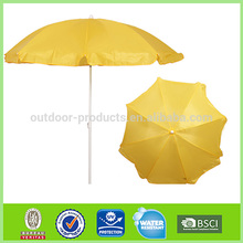 Latest designs Classical Sun and rain Polyester sand beach umbrella