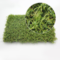 Natural looking landscaping grass / Garden artificial grass 45mm synthetic turf