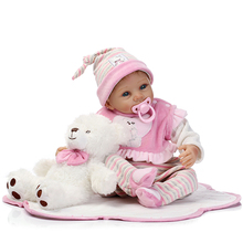 2018 new trending toys cheap silicone reborn babies dolls for girls