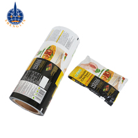 Customized food packaging plastic roll film hot laminating film roll for instant noodle bag