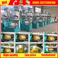 Vegetable oil extraction machine price for Rapeseed Peanut Sesame Soybean Tea seed Flax seed Cotton seed