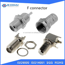 HOT SALE RG11 RG6 F Male Compression Waterproof Coaxial Connector