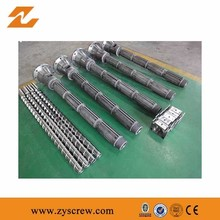 Hot-Selling high quality low price single screw barrel for pp recycl film extruder