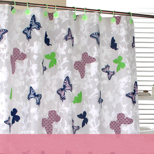 Promotional bath shower windows curtain, durable bath curtain