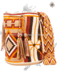 Genuine Wayuu Mochila Bag Thick Belt by Jardin del Cielo (Desert)